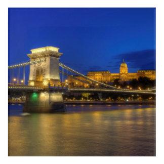 Budapest, Hungría Impresión Acrílica