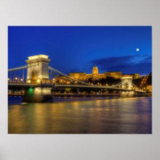 Budapest, Hungría Póster