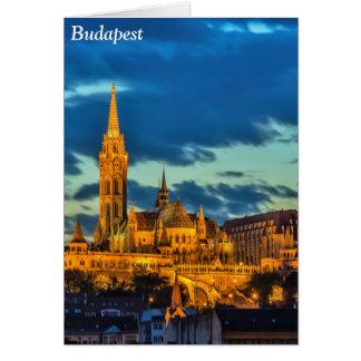 Budapest, Hungría Tarjeta De Felicitación