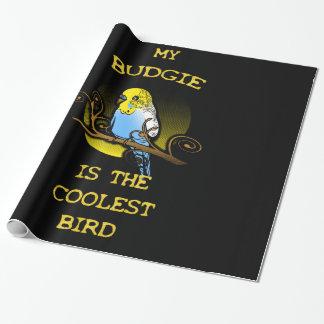 Budgie es el pájaro más fresco papel de regalo