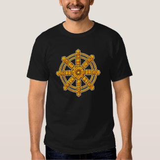 Budista Dharmachakra de Buda Camisetas