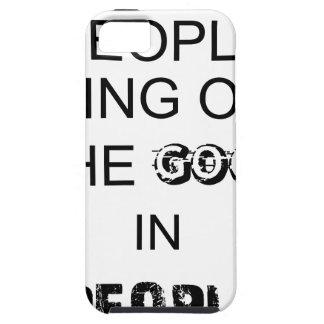 buen bringout de la gente el bueno en gente funda para iPhone SE/5/5s