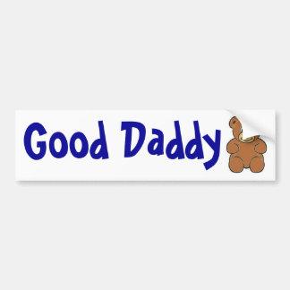 Buen pegatina del oso del papá