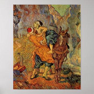 Buen samaritano (después de Delacroix), Vincent va Posters