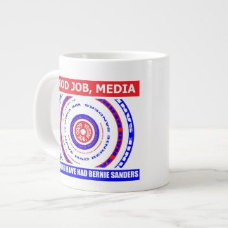 Buen trabajo, medios. Habríamos podido tener Taza De Café Grande
