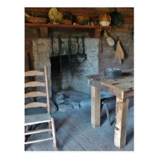 Buena casa vieja del cocinero de los días postal