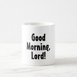 Buena mañana, señor Quote Taza