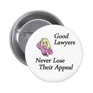 buena mujer de los abogados chapa redonda 5 cm