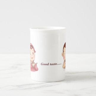 Buena porcelana de hueso del gusto tazas de china