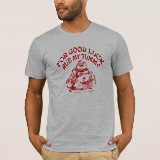 Buena suerte Buda Camiseta