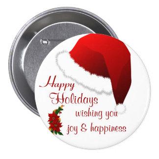 Buenas fiestas, alegrías #2_ del navidad pins