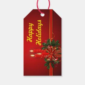Buenas fiestas etiqueta del regalo etiquetas para regalos