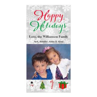 Buenas fiestas imágenes del navidad de la tarjeta tarjetas con fotos personalizadas