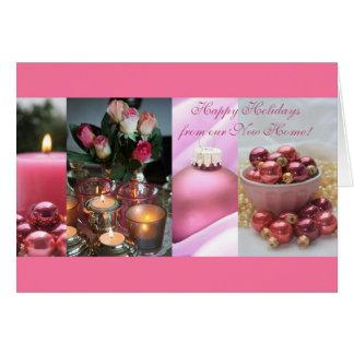 Buenas fiestas - nueva tarjeta de Navidad de la