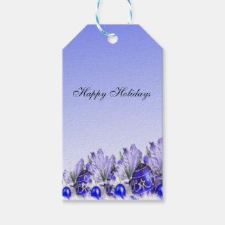 Buenas fiestas paquete de las etiquetas del regalo etiquetas para regalos