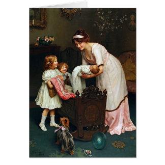 Buenas noches l para las madres tarjeta de felicitación
