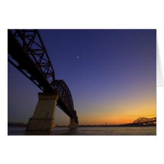 Buenas noches luna tarjeta de felicitación
