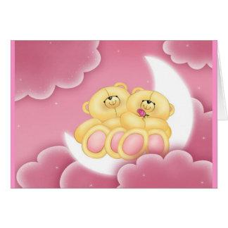 ¡Buenas noches osos! Sueño-Sobre la invitación Tarjeta De Felicitación