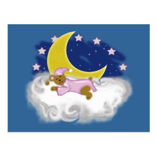 buenas noches sleepover del oso postales