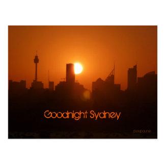 Buenas noches Sydney Postal