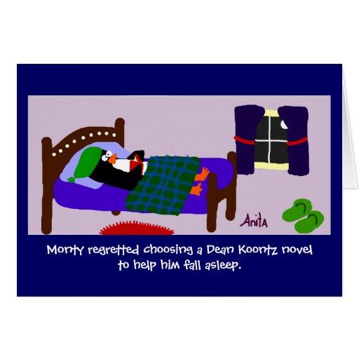 Buenas noches tarjeta
