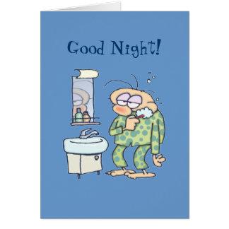 ¡Buenas noches! Tarjeta De Felicitación