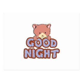 Buenas noches postal