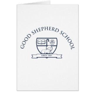 Buenas tarjetas de nota de la escuela del pastor
