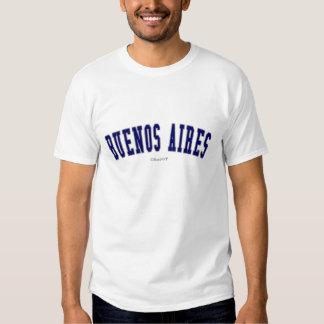 Buenos Aires Camisetas
