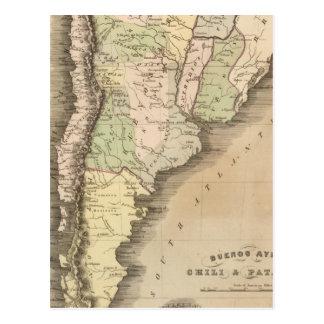 Buenos Aires, Chile, y Patagonia Postal