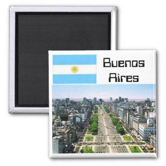 Buenos Aires Imán Cuadrado