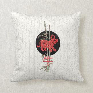 Buey (zodiaco chino) cojín