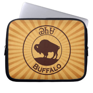 Búfalo cherokee - manga del ordenador portátil de funda para portátil