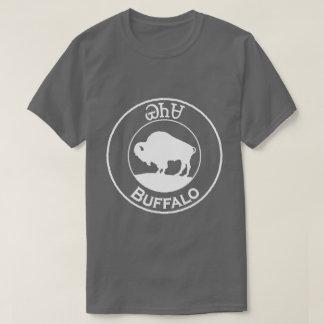 Búfalo cherokee - Yanasa en la camiseta blanca