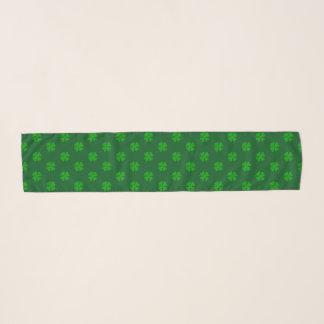 Bufanda afortunada verde de la gasa del día del St