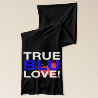Bufanda Amor azul verdadero