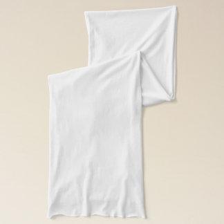 Bufanda blanca del jersey