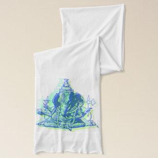 Bufanda blanca del jersey de Ganesha