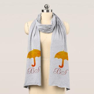 Bufanda brillante del paraguas de la colección de