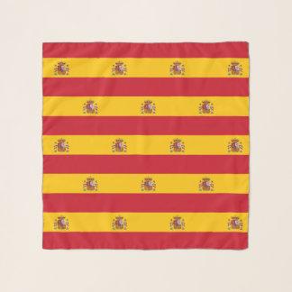 Bufanda cuadrada con la bandera de España