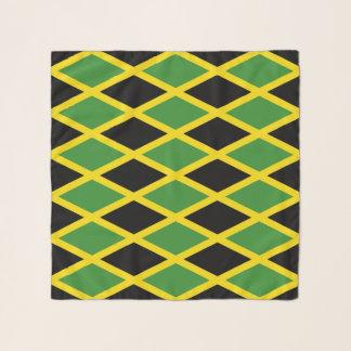 Bufanda cuadrada con la bandera de Jamaica