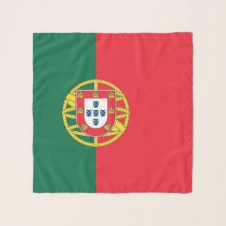 Bufanda cuadrada con la bandera de Portugal