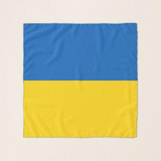Bufanda cuadrada con la bandera de Ucrania