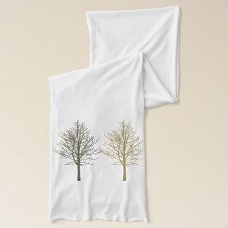 Bufanda Cuatro árboles