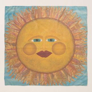 Bufanda de la gasa de la sol
