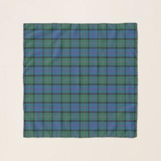 Bufanda de la gasa de la tela escocesa de tartán