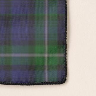 Bufanda de la gasa del tartán de Forbes del clan