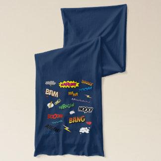 Bufanda del jersey del cómic