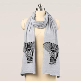 Bufanda Elefante modelado tribal bohemio de moda