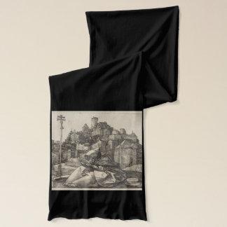 Bufanda Grabado de San Antonio de Albrecht Durer